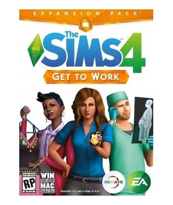 The Sims 4 Get to Work - DLC - PC - Origin
