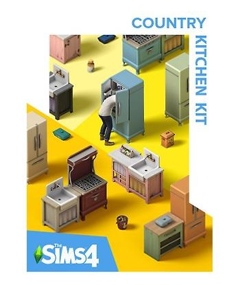 The Sims 4 Country Kitchen Kit Origin - DLC - PC - Origin