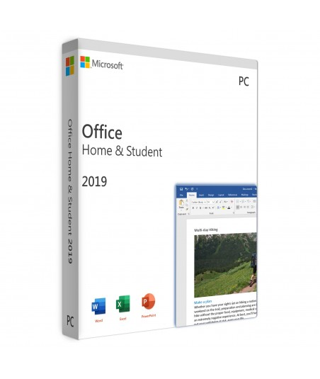 Office 2019 Home & Student Retail For 1 User on 1 Windows Device