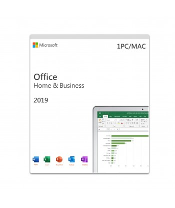 Office 2019 Home & Business PC/MAC Retail For 1 User on 1 Device