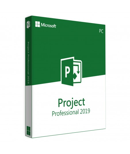 Project Professional 2019 Retail License For 1 User on 1 Windows Device