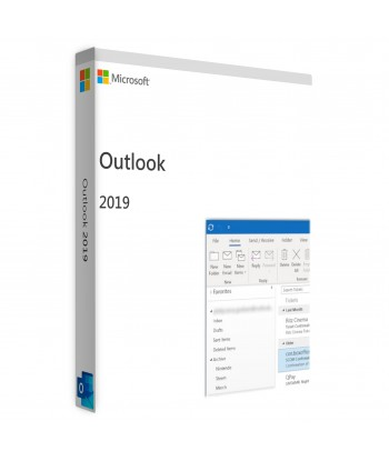 Outlook 2019 License For 1 User on 1 Windows Device