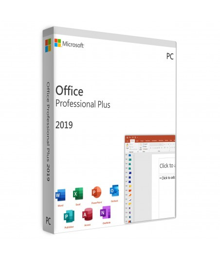 Office 2019 Professional Plus PC FPP For 1 User on 1 Windows Device