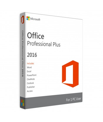 Office 2016 Professional Plus FPP key For 1 User on 1 Windows Device
