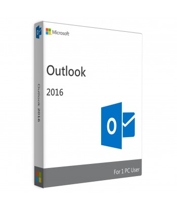 Outlook 2016 License For 1 User on 1 Windows Device