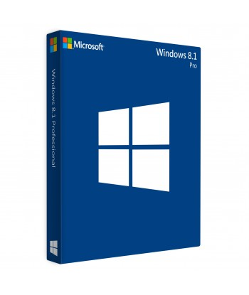 Windows 8.1 Pro OEM License (32 / 64 bit) For 1 User on 1 Device