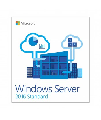 Windows Server 2016 Standard License For 1 User (No CALs)