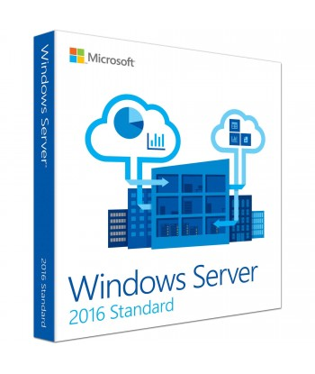 Windows Server 2016 Standard License For 1 User (No CALs)
