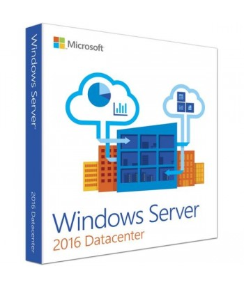 Windows Server 2016 Datacenter License For 1 User (No CALs)