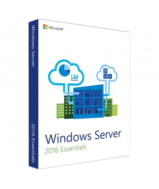 Windows Server 2016 Essentials License For 1 User (No CALs)