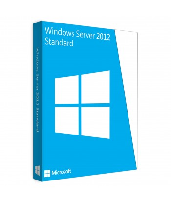 Windows Server 2012 Standard License For 1 User (No CALs)