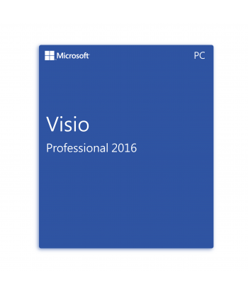 Visio Professional 2016 Retail License For 1 User on 1 Windows Device
