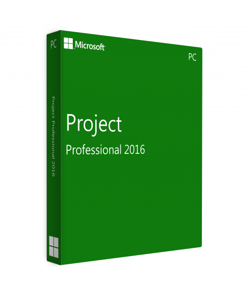 Project Professional 2016 Retail License For 1 User on 1 Windows