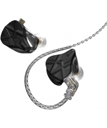 KZ ASF In-Ear Monitors - Black