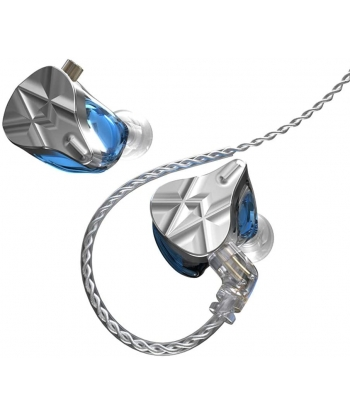 KZ ASF In-Ear Monitors - Blue