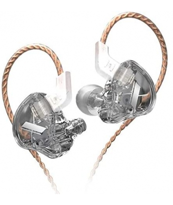 KZ EDX In-Ear Monitors - Clear Gray
