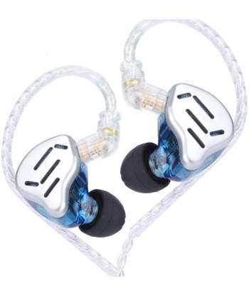 KZ ZAX In-Ear Monitors - Blue