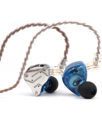 KZ ZS10 Pro In-Ear Monitors - Blue