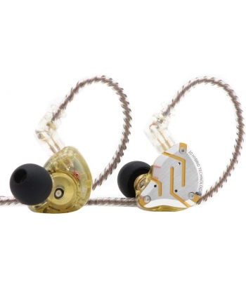 KZ ZS10 Pro In-Ear Monitors - Glare Yellow