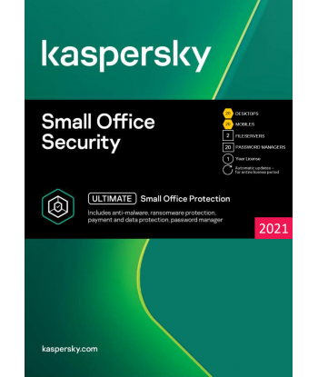 Kaspersky Small Office Security 2021 - 20 Devices | 1 Year license