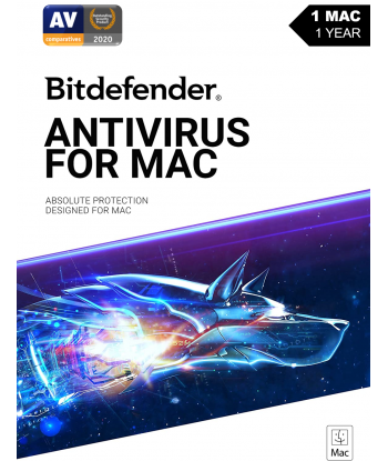 Bitdefender Antivirus for MAC - 2021 - 1MAC |1 Year