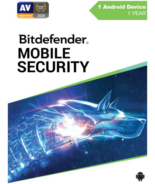 Bitdefender Mobile Security 2021 - 1 Android User | 1 Year