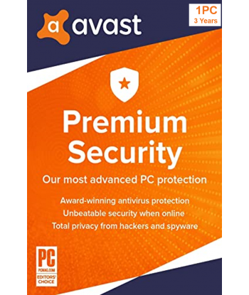 Avast Premium Security 2021 - 1PC | 3 Years